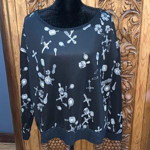 EUC Rock & Republic XL black sweatshirt